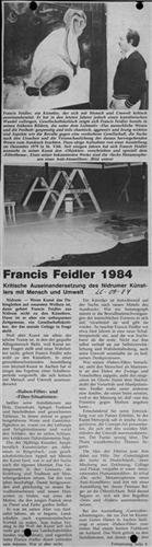 Francis Feidler 1984