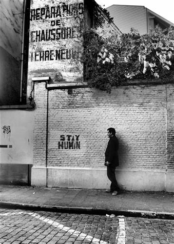 Alte Werbung, rue Terre-Neuve, Brüssel