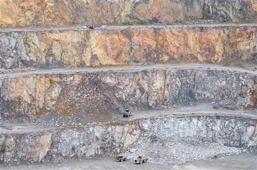 Steinbruch von Quenast