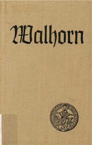 Viktor Gielen, Die Mutterpfarre und Hochbank Walhorn. Walhorn 1987.
