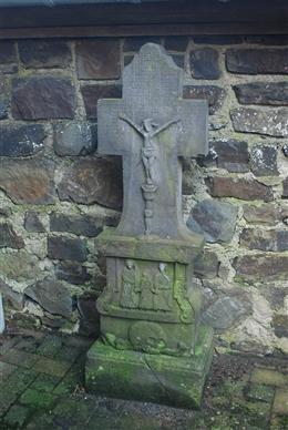 Grabkreuz des Pfarrers Dominicus Schins