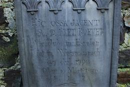 Grabkreuz Vikar Fret Boever