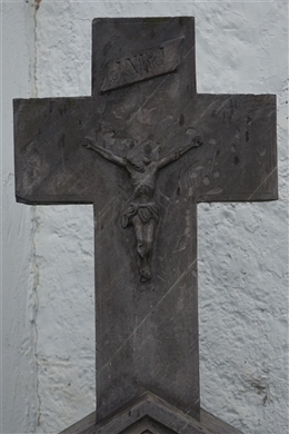 Historisches Grabkreuz Simon