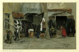 Kowno, Flickermarkt, 1917