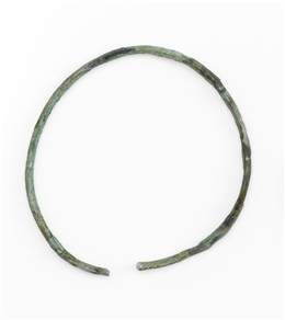 Trachtelement, bronzener Armring BR08.04/05.13