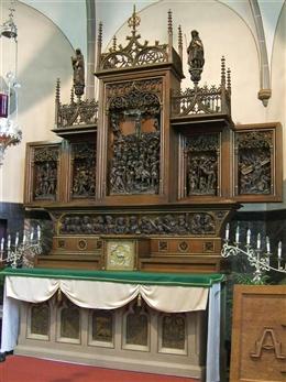 Altar Kapelle St. Anna (Lontzen)