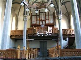 Orgel der Friedenskirche