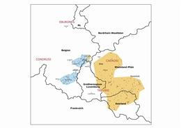 Siedlungsgebiete der Kelten