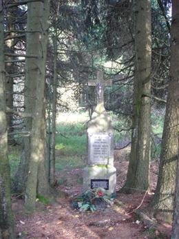 Kreuz im Wald