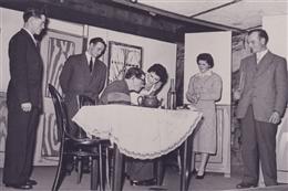 Auel, 1956: Theaterspiel