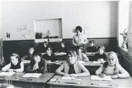 Aldringen, 1967: Schulzeit
