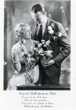 Andler, 1937: Brautzeit