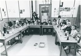 Aldringen, 1970: Kindergarten