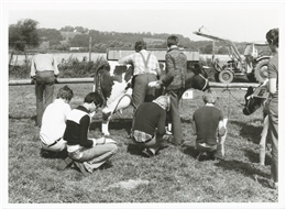 Aachen, 02.09.1977: Kreistierschau