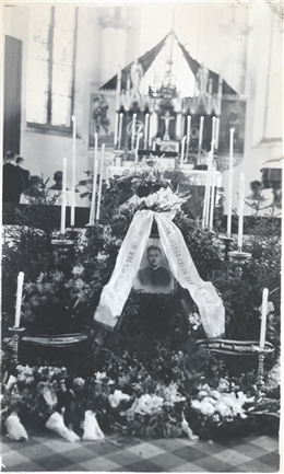 Amel, 1948: Begräbnis