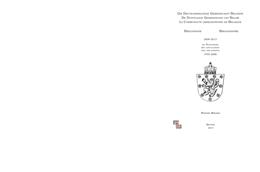 Bibliographie Werner Miessen 2009-2013