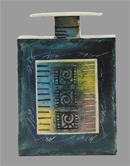 Flasche mit Deckel