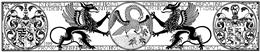 Bauchfries 104 Wappen und Pelikan
